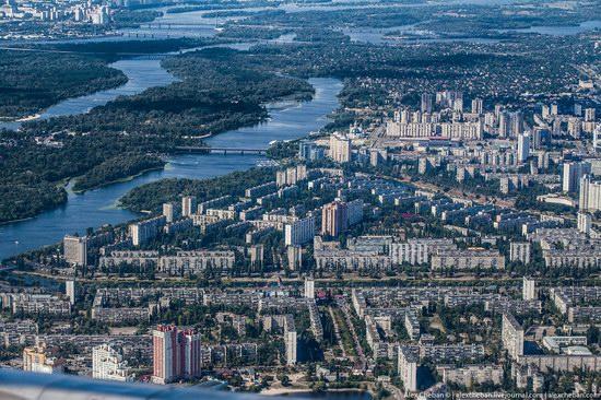 Bird's eye view of Kyiv, Ukraine, photo 6
