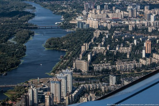 Bird's eye view of Kyiv, Ukraine, photo 7