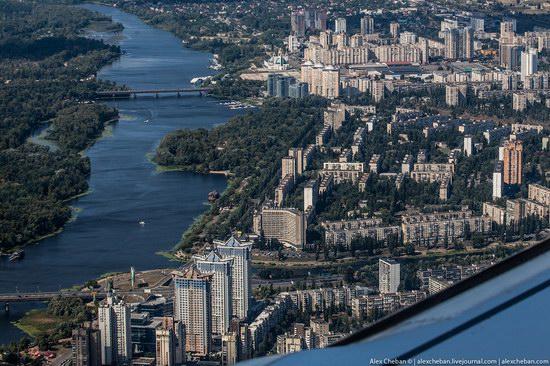 Bird's eye view of Kyiv, Ukraine, photo 7