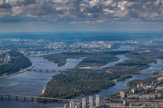 Bird's eye view of Kyiv, Ukraine, photo 8