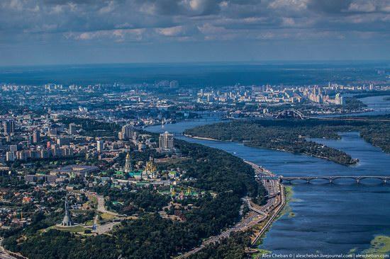 Bird's eye view of Kyiv, Ukraine, photo 9