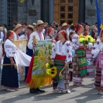The Parade of Vyshyvankas in Kyiv