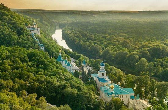 Svyatogorsk Holy Dormition Lavra, Ukraine