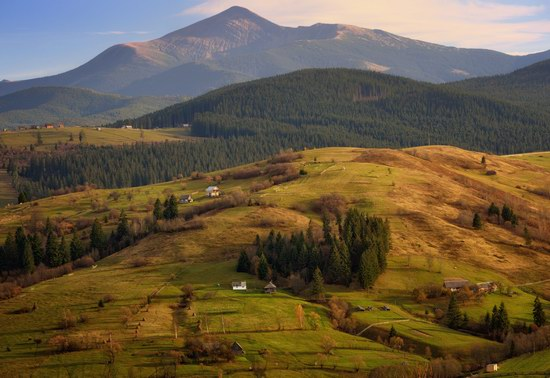 Just another day in the Carpathians, Ukraine