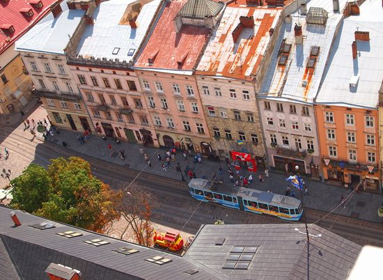 The views of Lviv from the City Hall, Ukraine, photo 19