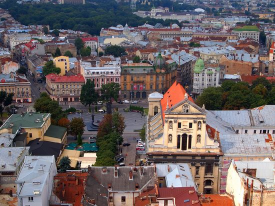 The views of Lviv from the City Hall, Ukraine, photo 20