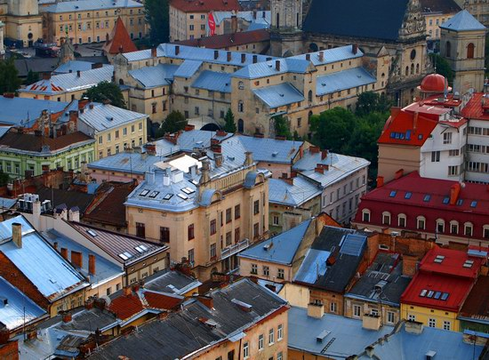 The views of Lviv from the City Hall, Ukraine, photo 6