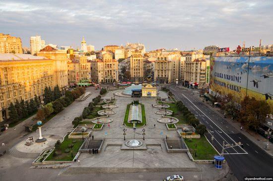 Restored Independence Square, Kyiv, Ukraine, photo 4