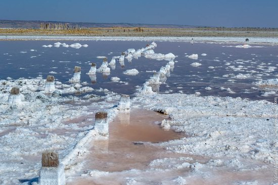 Salt desert near Odessa, Ukraine, photo 1