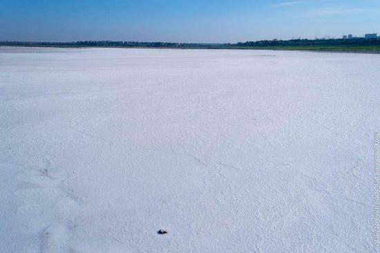 Salt desert near Odessa, Ukraine, photo 13