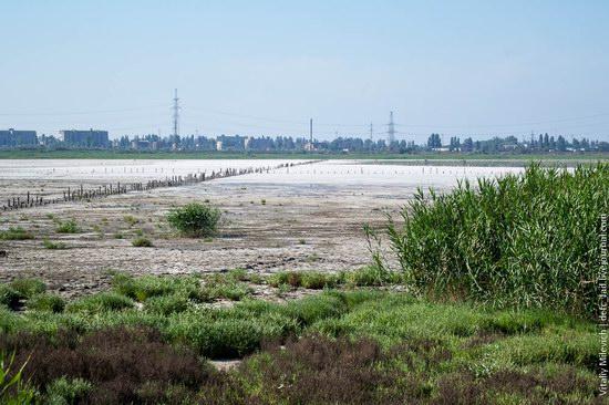 Salt desert near Odessa, Ukraine, photo 21