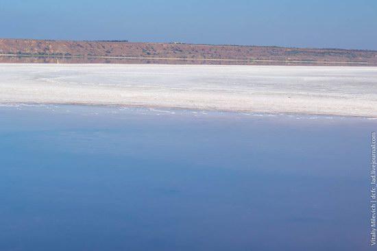 Salt desert near Odessa, Ukraine, photo 3