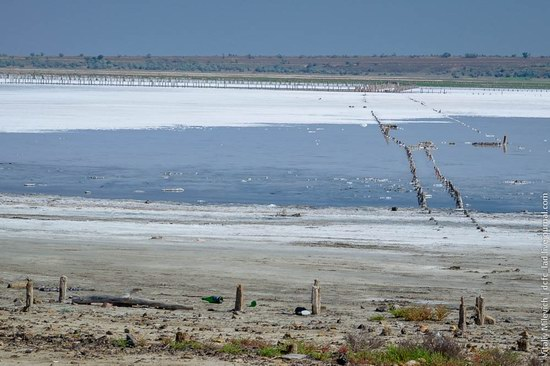 Salt desert near Odessa, Ukraine, photo 4