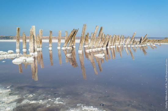 Salt desert near Odessa, Ukraine, photo 6