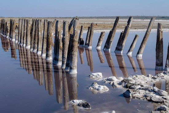 Salt desert near Odessa, Ukraine, photo 7
