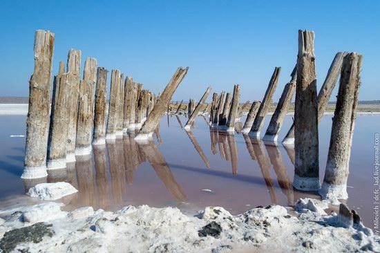 Salt desert near Odessa, Ukraine, photo 8