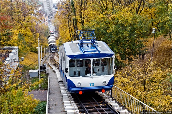 Kyiv cable railway, Ukraine, photo 1