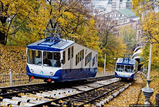 Kyiv cable railway, Ukraine, photo 11
