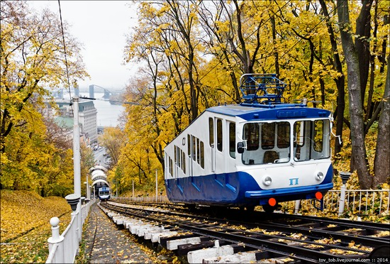 Kyiv cable railway, Ukraine, photo 3