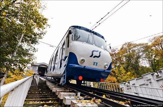 Kyiv cable railway, Ukraine, photo 6