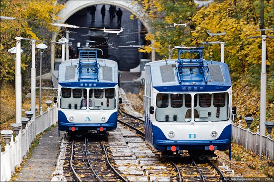 Kyiv cable railway, Ukraine, photo 7