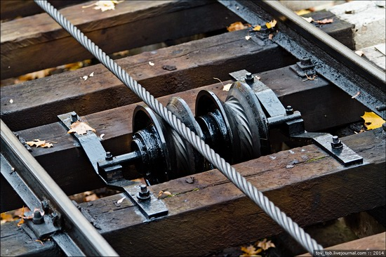 Kyiv cable railway, Ukraine, photo 8