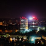 Magnificent photos of Kyiv city at night
