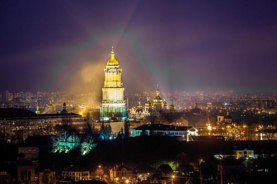 Kyiv city at night time, Ukraine, photo 13