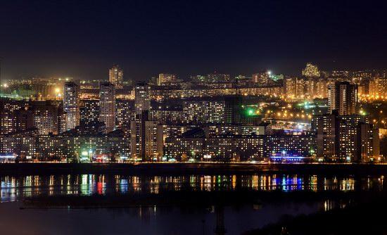 Kyiv city at night time, Ukraine, photo 14