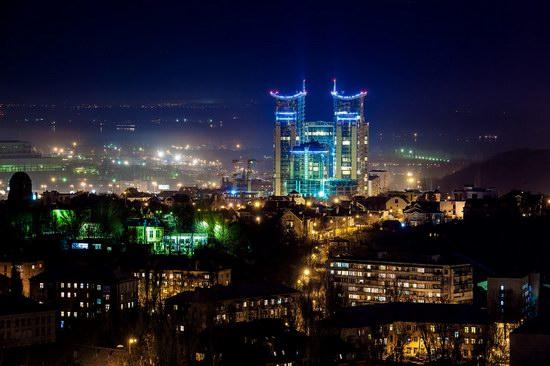 Kyiv city at night time, Ukraine, photo 5