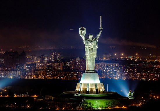 Kyiv city at night time, Ukraine, photo 6