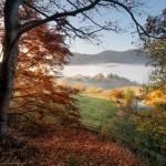 Golden autumn in the Ukrainian Carpathians