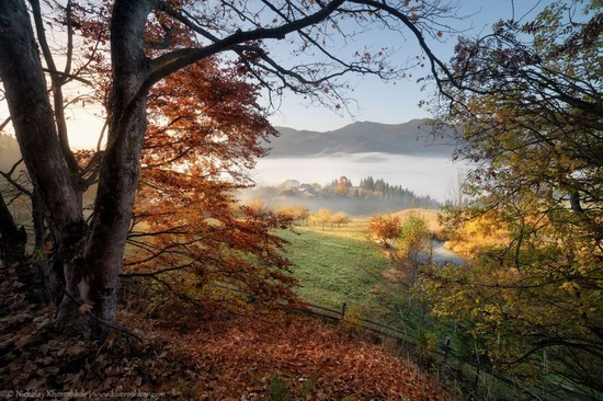 Golden autumn in the Ukrainian Carpathians, photo 1