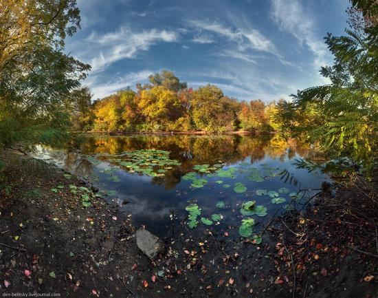 The fall on the island of Khortytsia, Zaporozhye, Ukraine, photo 1