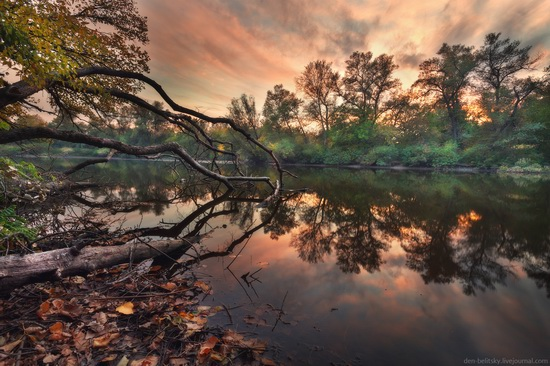 The fall on the island of Khortytsia, Zaporozhye, Ukraine, photo 2