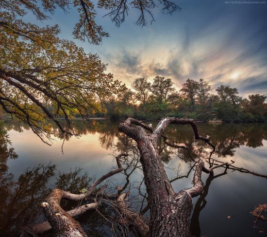 The fall on the island of Khortytsia, Zaporozhye, Ukraine, photo 4