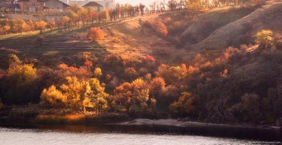 The fall on the island of Khortytsia, Zaporozhye, Ukraine, photo 5
