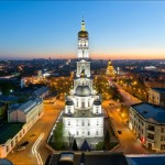 Let's look at Kharkov city from above