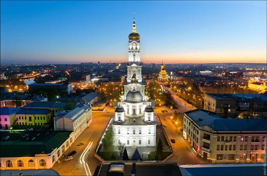 Kharkov city, Ukraine from above, photo 1
