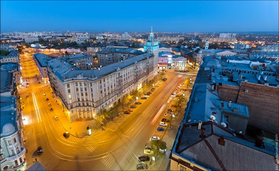 Kharkov city, Ukraine from above, photo 10