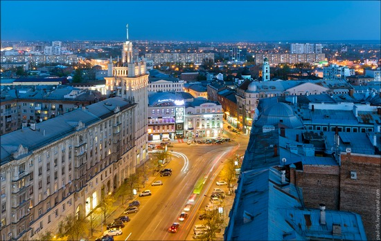 Kharkov city, Ukraine from above, photo 11