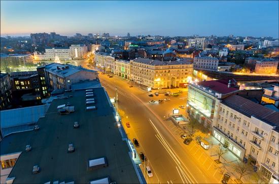Kharkov city, Ukraine from above, photo 12