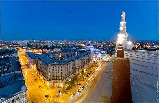 Kharkov city, Ukraine from above, photo 13