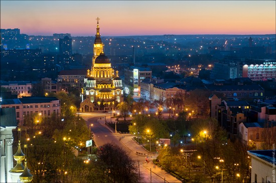 Kharkov city, Ukraine from above, photo 14