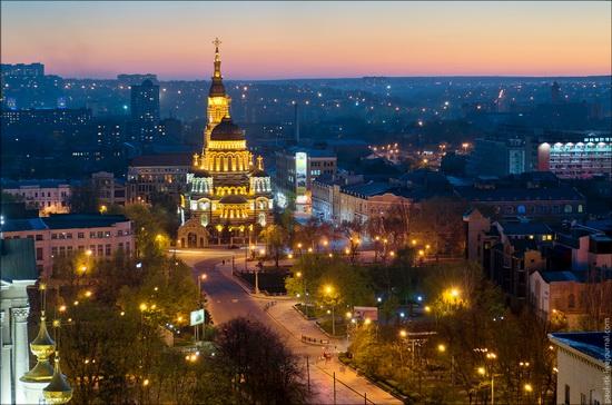 Kharkov city, Ukraine from above, photo 14