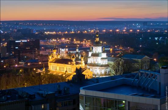 Kharkov city, Ukraine from above, photo 15