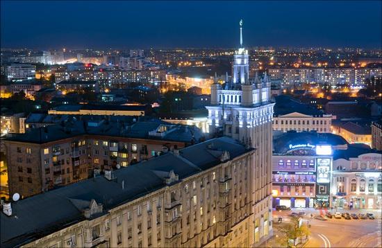 Kharkov city, Ukraine from above, photo 16