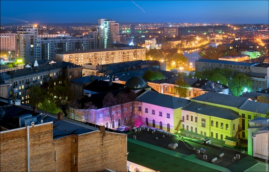 Kharkov city, Ukraine from above, photo 17