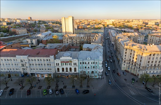 Kharkov city, Ukraine from above, photo 3