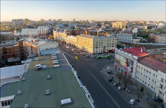 Kharkov city, Ukraine from above, photo 4